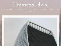 Frontpage screenshot for site: Univerzal d.o.o. Zagreb (http://www.univerzal.hr)