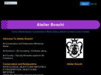 Frontpage screenshot for site: Rea Boschi Gogolja, Atelier Boschi (http://www.atelierboschi.8k.com)