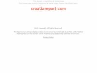 Frontpage screenshot for site: Croatia Report - Izvještaj o Hrvatskoj (http://www.croatiareport.com)