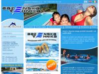 Slika naslovnice sjedišta: Bazenska tehnika d.o.o. (http://www.bazeni.info)