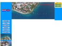 Frontpage screenshot for site: Apartmani (prvi red do mora) u Stanićima kod Omiša (http://www.stanici.net/)