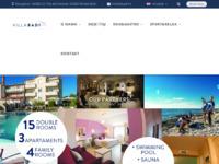 Frontpage screenshot for site: Badi rooms & apartments - Motel u Lovrečici, Umag (http://www.badi.hr)