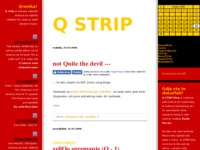 Frontpage screenshot for site: Q Strip (http://qstrip.blog.hr/)