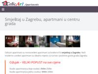Frontpage screenshot for site: Celicart-apartmani (http://www.celicart-apartments.com)