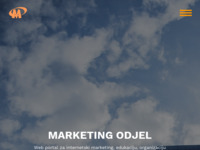 Frontpage screenshot for site: Marketing odjel (http://www.marketing-odjel.com)
