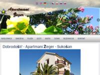 Slika naslovnice sjedišta: Apartmani Žeger Sukošan (http://www.apartmani-zeger.com/)