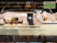 Frontpage screenshot for site: Exclusive Travel (http://exclusivetravelcroatia.com/)