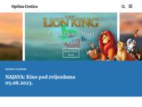 Slika naslovnice sjedišta: Općina Cestica (http://www.cestica.hr/)