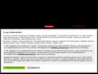 Frontpage screenshot for site: Otok Lastovo (http://www.lastovo.prv.pl)