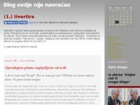 Frontpage screenshot for site: Vukovar Blog (http://vukovar.blog.hr/)