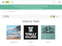 Frontpage screenshot for site: Thania Elv's e-shop (http://www.cafepress.com/elv)