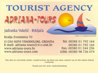 Frontpage screenshot for site: Adriana-tours (http://www.adriana-tours.hr)