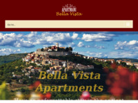 Frontpage screenshot for site: Apartmani Bella Vista (http://www.apartmani-motovun.com/)