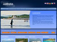 Frontpage screenshot for site: Murter-amfora (http://www.murter-amfora.com/)
