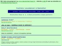 Frontpage screenshot for site: Deutsches Haus d. o. o. (http://pyd.deutsches-haus.hr)