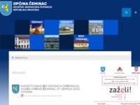 Slika naslovnice sjedišta: Općina Čeminac (http://www.ceminac.hr/)