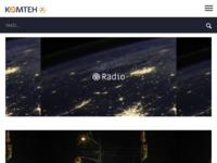 Slika naslovnice sjedišta: Komteh d.o.o. - komunikacijske tehnologije (http://www.komteh.hr/)