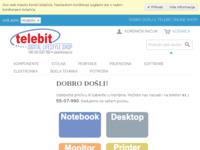 Slika naslovnice sjedišta: Telebit online (http://www.telebit.hr)