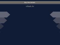 Frontpage screenshot for site: Turistička agencija Vibak (http://www.vibak.hr)