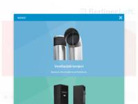 Frontpage screenshot for site: Klima kontakt - Ventilacija i ventilatori (http://www.klima-kontakt.hr)