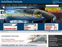 Slika naslovnice sjedišta: Auto škola Formula Bjelovar (http://autoskola-formula.hr/)