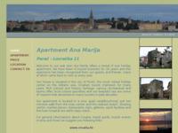 Frontpage screenshot for site: Apartman Ana Marija - Poreč (http://free-pu.t-com.hr/amv_vidas/index.html)