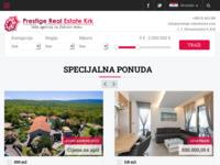 Frontpage screenshot for site: Prestige nekretnine (http://www.prestige-nekretnine.com/)