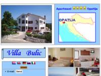 Frontpage screenshot for site: Villa Andreja Opatija (http://apartments-croatia.info/216/hr.htm)