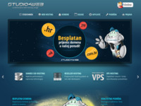 Frontpage screenshot for site: Studio4web (http://www.studio4web.hr)