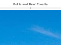 Frontpage screenshot for site: (http://bolcroatia.com)