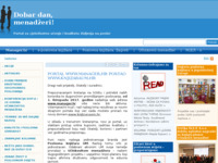 Frontpage screenshot for site: MEP Conslut (http://www.manager.hr/)