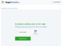 Slika naslovnice sjedišta: Hrvatski turistički i gospodarski vodič (http://www.kroatien-online.com)