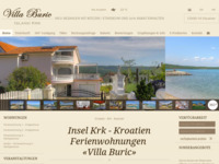 Frontpage screenshot for site: Villa Burić (http://www.villaburic.com/)