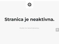 Frontpage screenshot for site: Poreč nekretnine (http://www.godens.hr/)