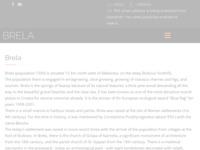 Frontpage screenshot for site: Brela - Privatni apartmani i pansioni (http://www.brela.com/)