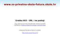 Slika naslovnice sjedišta: Privatna gimnazija i ekonomsko-informatička škola Futura (http://www.ss-privatna-skola-futura.skole.hr)