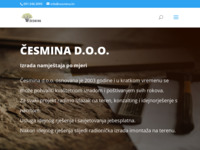 Slika naslovnice sjedišta: Česmina d.o.o. dizajniranje i izrada namještaja po mjeri (http://www.cesmina.hr/)