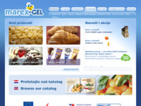 Frontpage screenshot for site: Marex - gel (http://www.marex-gel.hr/)