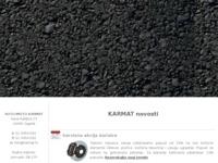 Frontpage screenshot for site: Auto-moto Karmat (http://www.karmat.hr/)