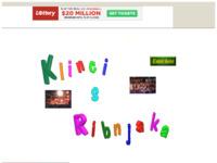 Frontpage screenshot for site: Dječji pjevački zbor (http://members.tripod.com/~klinci)