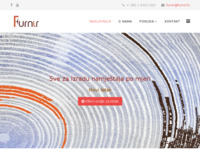 Slika naslovnice sjedišta: Furnir d.d. (http://www.furnir.hr/)