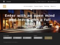 Frontpage screenshot for site: Hotel Slisko - Zagreb - Croatia (http://www.slisko.hr)