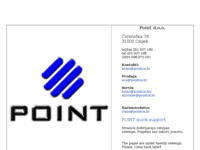 Slika naslovnice sjedišta: Point d.o.o (http://www.pointos.hr)