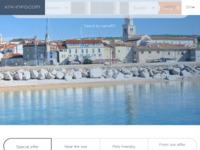 Frontpage screenshot for site: Turistička agencija Krk Gaber, Krk (http://www.krkgaber.hr/)