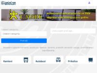 Slika naslovnice sjedišta: HR kamioni - specijalizirani portal o vozilima za cestovni prijevoz robe (http://www.hr-kamioni.com)
