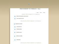 Frontpage screenshot for site: ALT Photoshop tutoriali i web design (http://www.alt-web-design.com/tutorials)