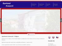 Frontpage screenshot for site: Podgora Makarska riviera (http://www.podgora.net)