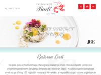 Frontpage screenshot for site: (http://www.restaurant-badi.com)