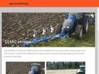 Slika naslovnice sjedišta: Agromarketing - Prijenos znanja i tehnologije (http://www.agromarketing.hr/)