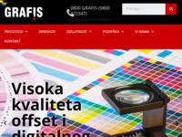 Slika naslovnice sjedišta: Tiskara Grafis (http://www.grafis.hr/)